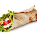WRAP pollo alla piastra, lattuga, pomodoro, carote, zucchine, maionese
